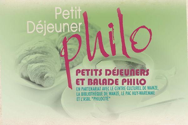 Petit Déjeuner Philo - Affiche