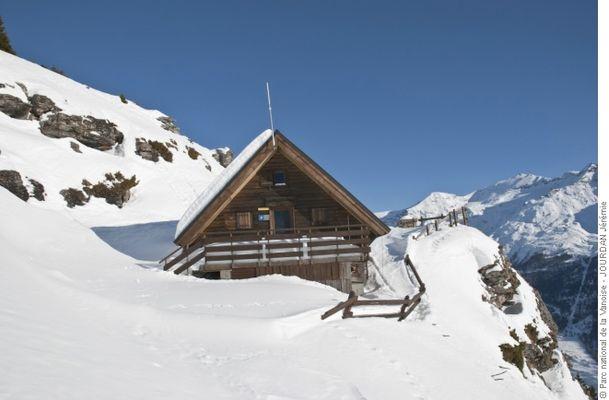 Refuge de Cuchet - refuge du Parc national de la Vanoise - ouvert hors période d