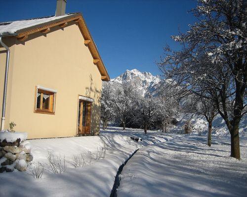 Chambre et table d'hôtes La Pierre d'Oran,Massif des Ecrins,Pays des Ecrins,Queyras,Briançon,Hautes-Alpes.