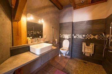Chambre la clairière avec salle de bain