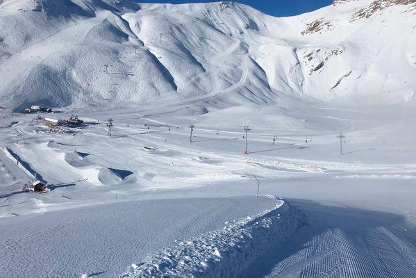 Snowpark d'Orcières Merlette 1850