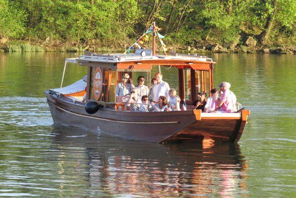 Balade de Vienne à Condrieu en bateau