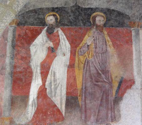 Apôtres église La Roche