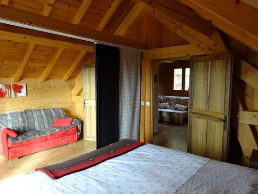 Chambre Location Meublé Chalet Quillawasi Chaillol