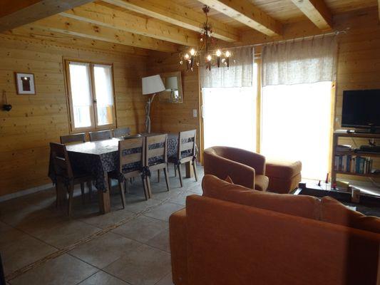 repas Location Meublé Chalet Quillawasi Chaillol