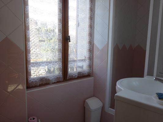 Salle d'eau Meublé Mme BERTRAND A Location St Bonnet Champsaur