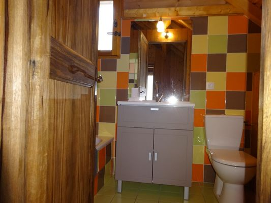 Salle d'eau Location Chalet Intiwasi Chaillol 1600