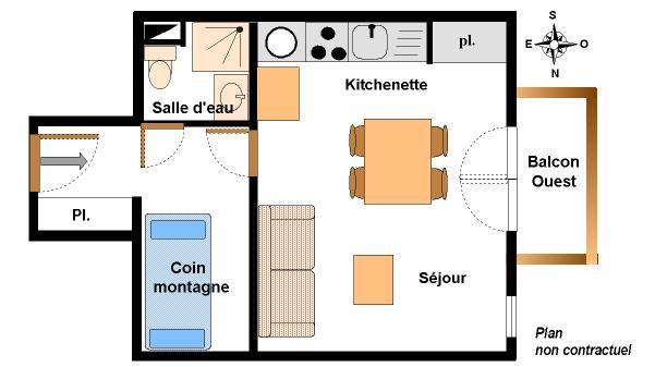 Chevallier - Studio 4 personnes - CHC123