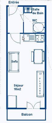 Setives - Studio 2 personnes ** - SET17