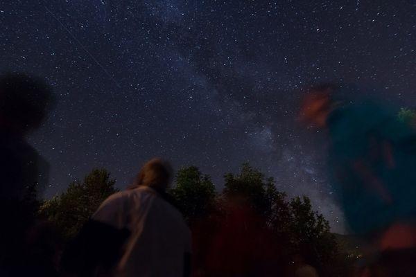 Voie Lactée en Vallouise