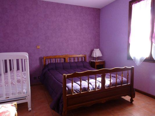 Chambre bas . Meublé Mme CESMAT D Location Ancelle