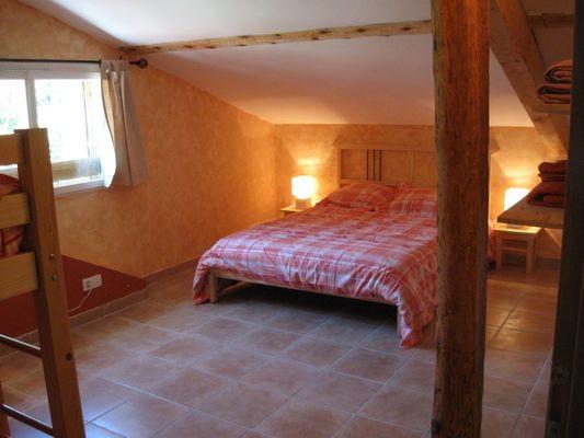 Chambre 1 Meublé Allosia location St Julien