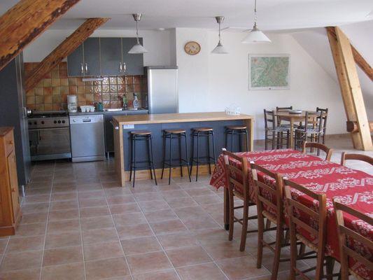 Séjour Meublé Allosia location St Julien