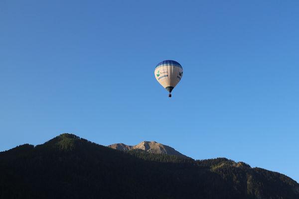 Hautes Alpes Montgolfière