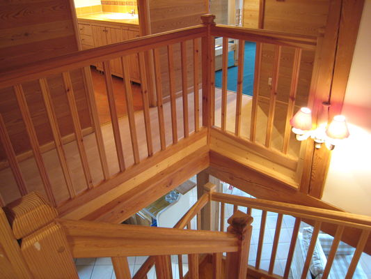 Chabran escaliers