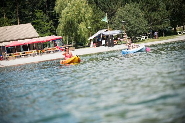 Kayak au plan d'eau du Champsaur