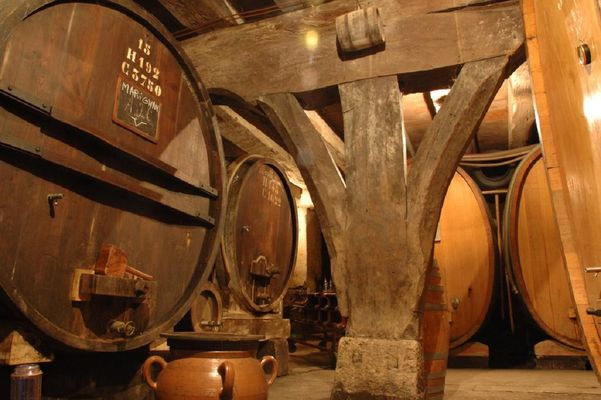 Les caves du Château La Tour de Marignan