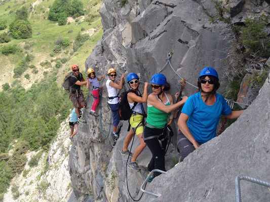 Via ferrata d'Ancelle