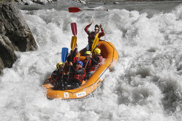 Rafting Indian canoraft