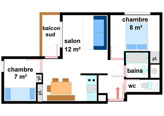 Quartier Napoleon - 3 pièces 6 personnes - CA0012