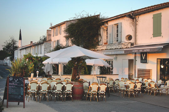 Restaurant le v ars en r destination le de r office de tourisme - Office tourisme ars en re ...