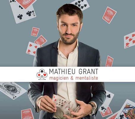 casino bourbonne spectcle mathieu grant magicien professionnel et mentaliste.