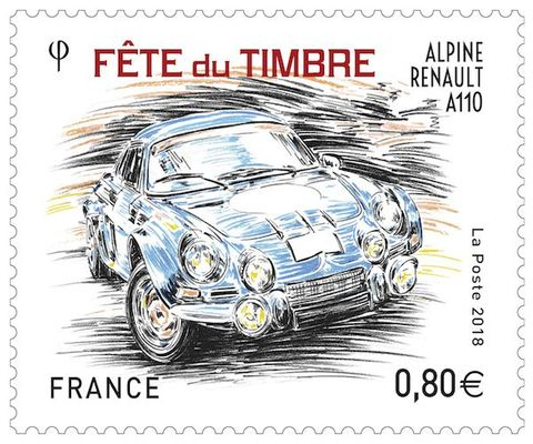 wassy 52 fete du timbre alpine.