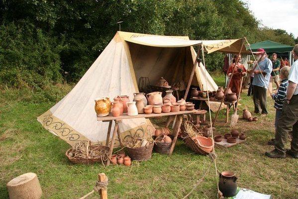 droyes 52 camp medieval brocante.