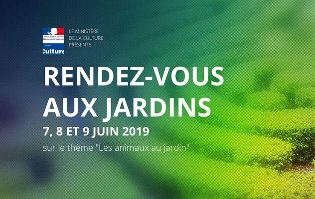 rendez vous aux jardins juin 2019.