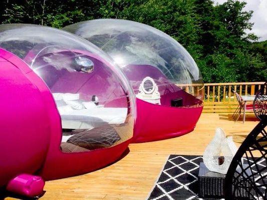 champagne 52 illoud dormir dans une bulle.