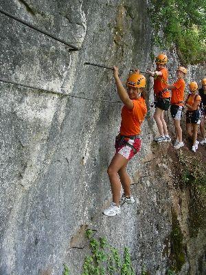 Roc et Canyon - parcours aventure