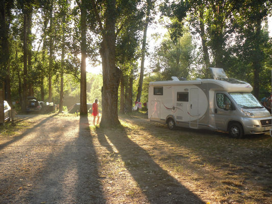 Espace Camping-cars Camping Brudy-Brudy Plage**