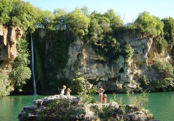 Casacade st Rome de Tarn