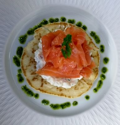 Le Blinis de Saumon