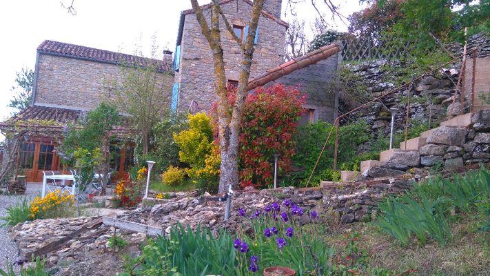 Jardin avril