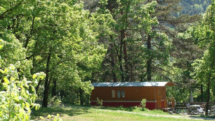 Weekend insolite - Roulotte et Spa en Aveyron