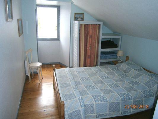 Gîte le Cigalon Chambre 2 lit 140 à l'étage