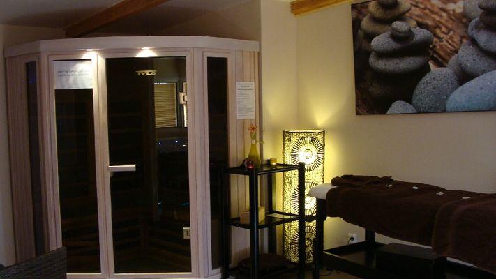 Espace bien-être commun - Spa, sauna, massages en Aveyron