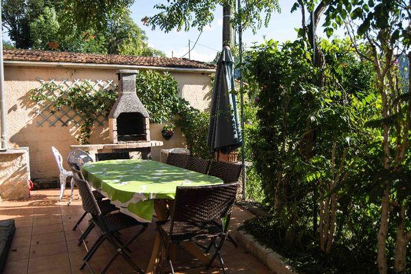 Terrasse, barbecue