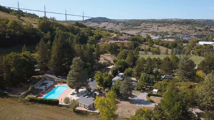 Camping Saint-Martin Millau / Creissels