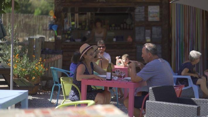 Camping Saint-Martin / Restauration - Snack