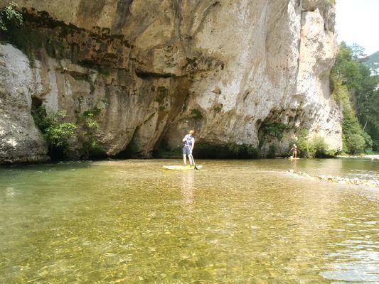 Paddle , Gorges du Tarn