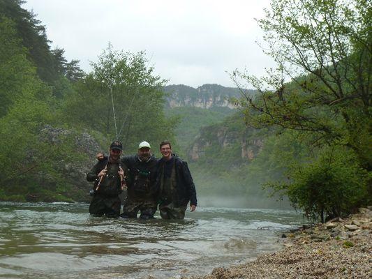 Stage pêche de la truite Heran Damien