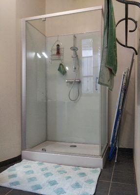 Cabine de douche - Extra large 120x80