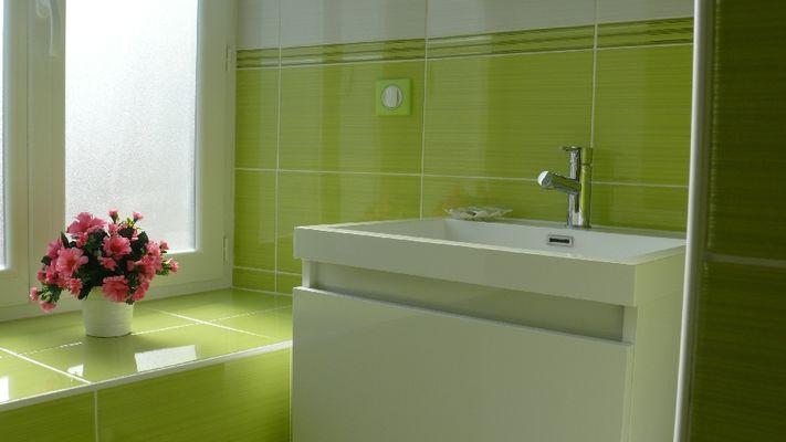 Salle d'eau dans la chambre Printemps