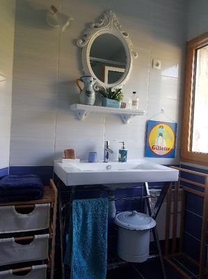 Le Mas Albizia - Salle d'eau avec WC