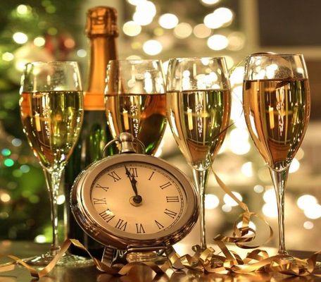 bonne annee en champagne.