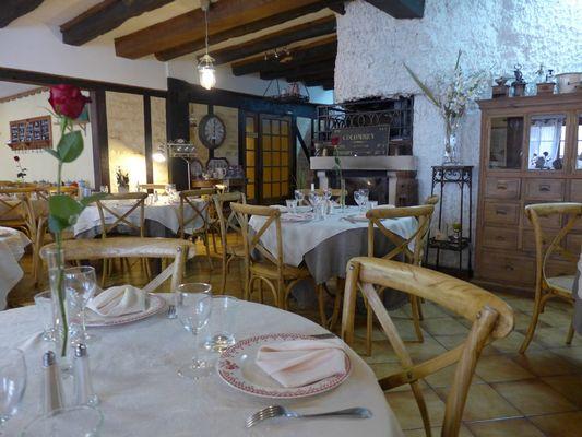 champagne 52 colombey les deux eglises la grange du relais restaurant.