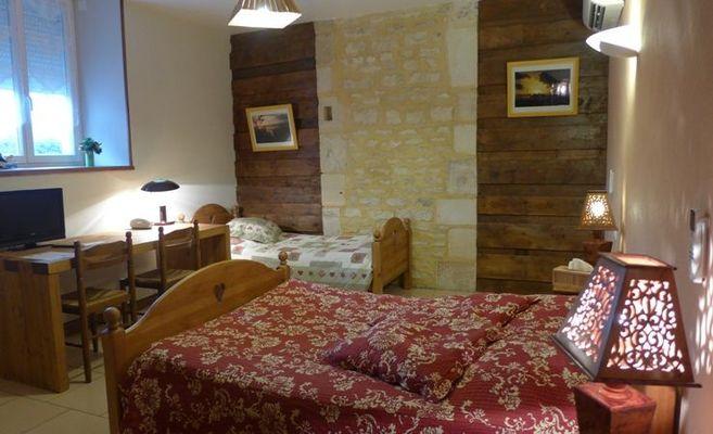chambre hote haute marne saudron 52g580 chambre 1.