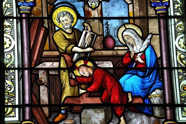 champagne 52 doulevant patrimoine religieux vitraux phl 6856.